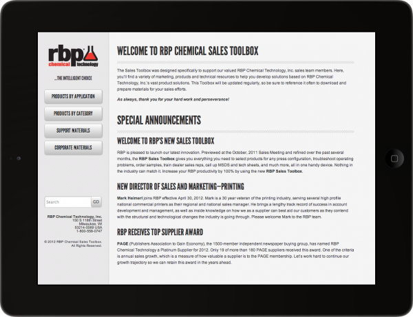 RBP Sales Toolbox