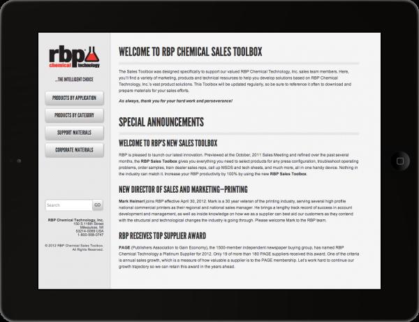 RBP Sales Toolbox
